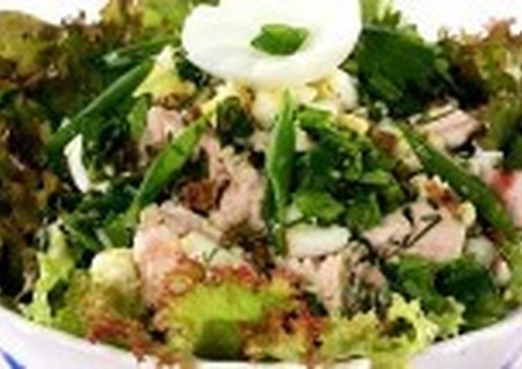 Оригинальный салатик из курочки