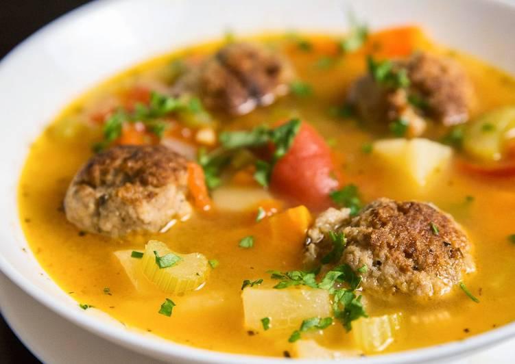 рецепт фарша для фрикаделек для супа