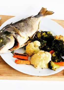 Дорадо с овощами для похудения