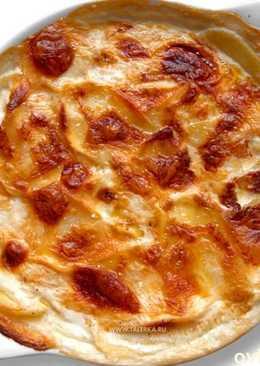 Картофель дофинуа, отличный гарнир для новогоднего стола