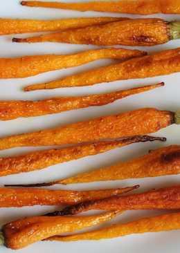 Морковь, запеченная в духовке