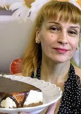 Торт птичье молоко - летний вкусный десерт на скорую руку