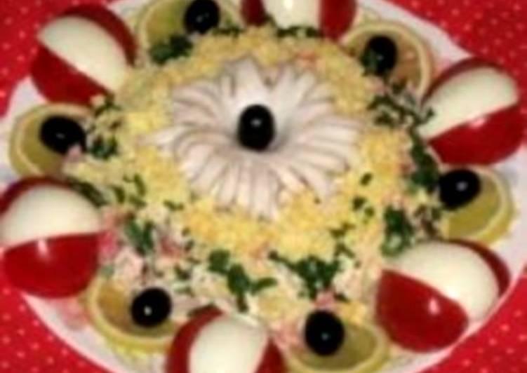 Салат новогодний «Черная жемчужина»