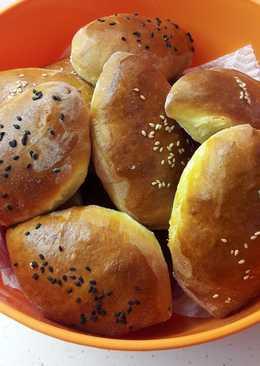 Пирожки с луком, яйцом и рисом