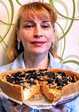 Торт без выпечки из печенья со сгущенкой