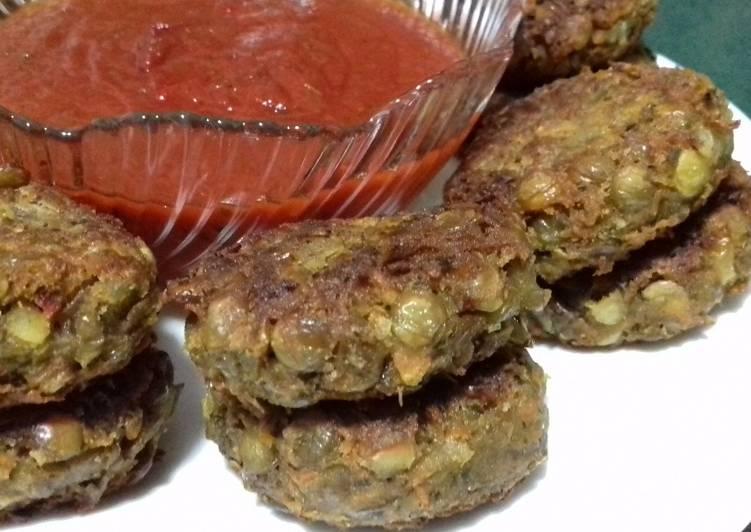 Котлеты из зеленой чечевицы рецепт