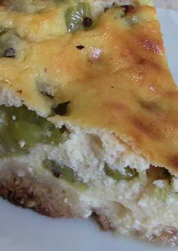 Пирог с крыжовником и творогом. Потрясающе вкусная домашняя выпечка
