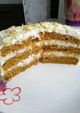 Морковный ПП- торт