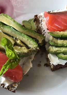 Супер 👍 полезные и вкусные 😋 бутерброды на завтрак ☕/ пп-еда