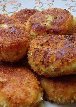 Пирожки из картофельного пюре(постные)
