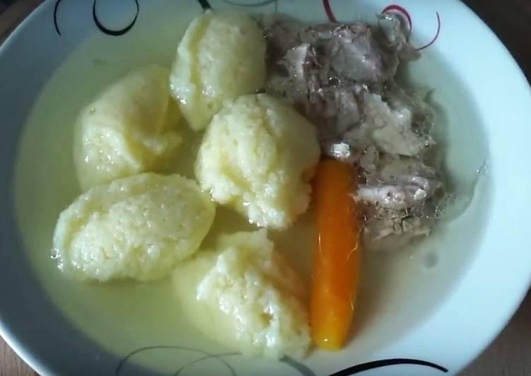 Кнедли для супа
