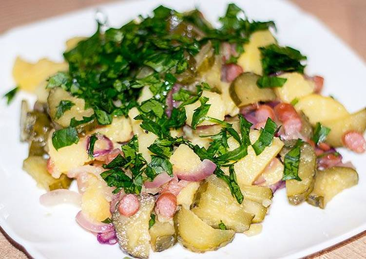 """Вкуснейший салат из простых продуктов """"Бавария"""""""