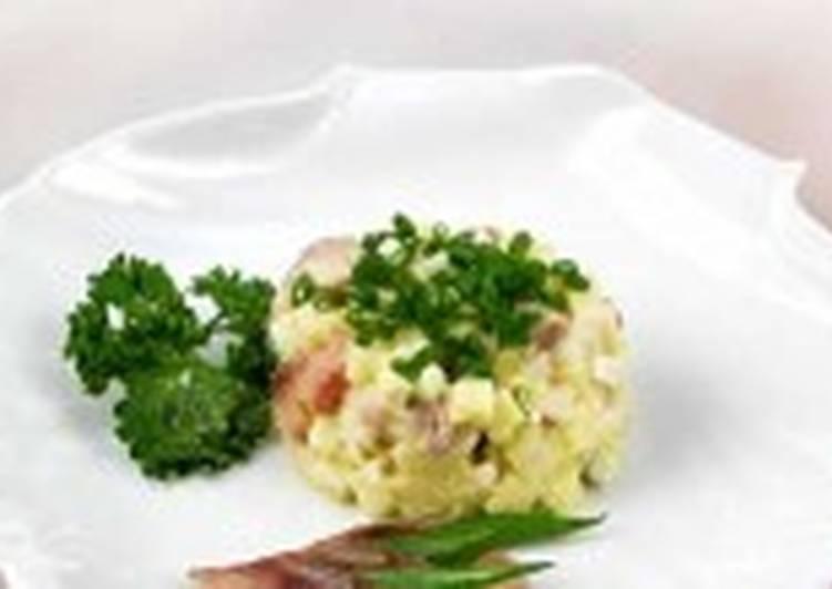 Салат c сельдью по-датски