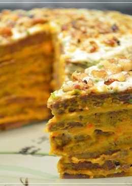 Вкусный Печеночный Торт! Пошаговый рецепт на Новогодний стол 2018