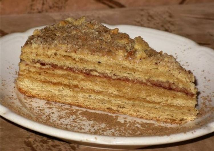Торт «Медовик» в мультиварке