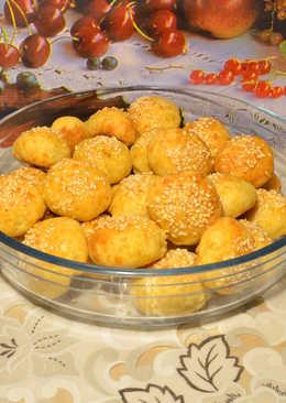 Булочки-колобки с оливками! Маленькие булочки - вкусная закуска! Просто и оригинально
