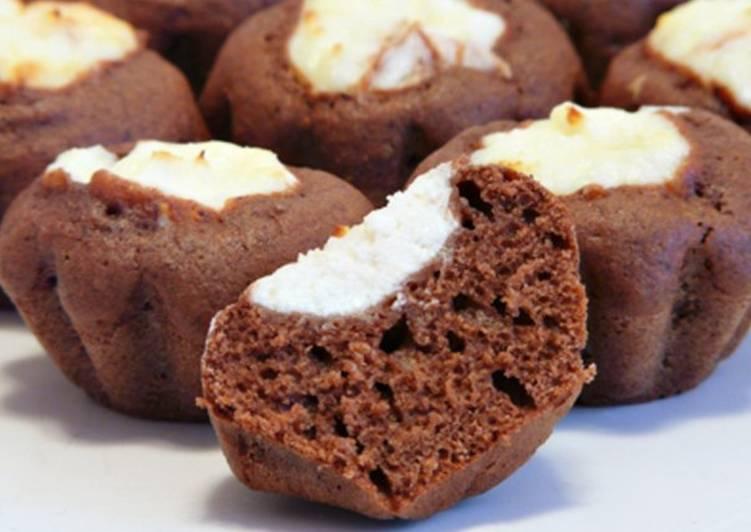 Шоколадные кексы-ватрушки
