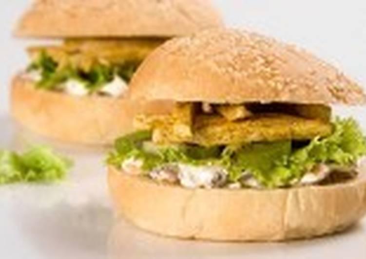 Сэндвичи с куриным филе и киви