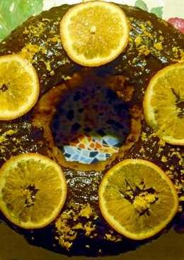Феерический кекс с апельсинами и шоколадом