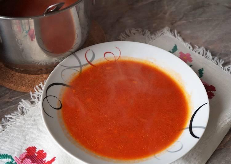 Суп томатный пошаговый рецепт