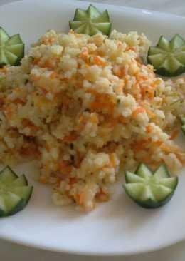 Пряный рис с овощами