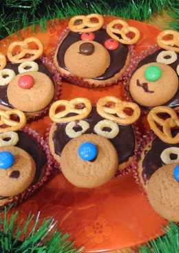 """Кексы """"Олени"""". Забавные сладости для детей"""