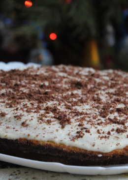 Тыквенный пирог со сметанным кремом