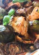 Рыбка с овощами #пп