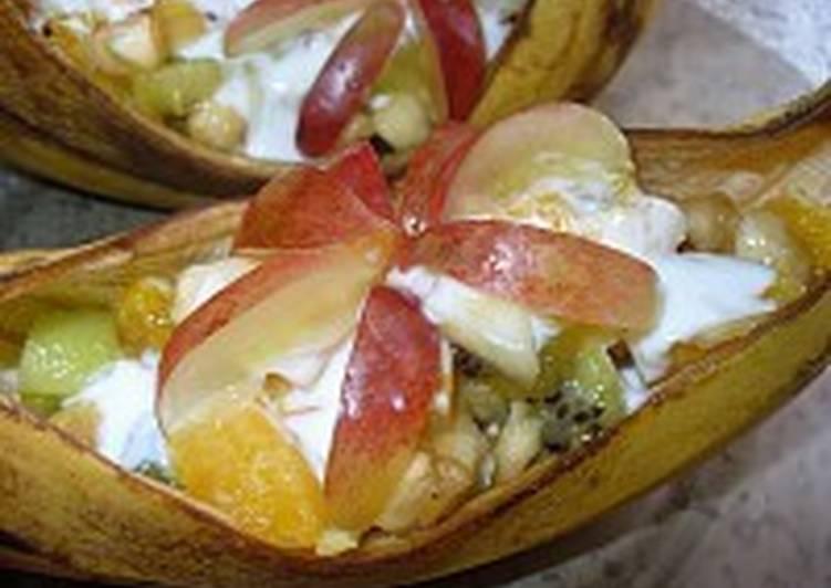 Салат фруктовый «Романтика»