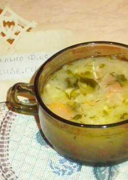 """Суп """"Капустняк"""" с пшеном и курицей"""