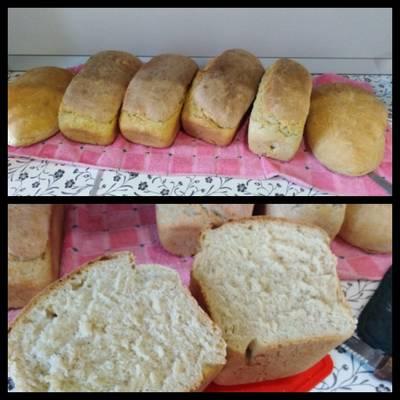 Хлеб белый домашний в духовке, или батон