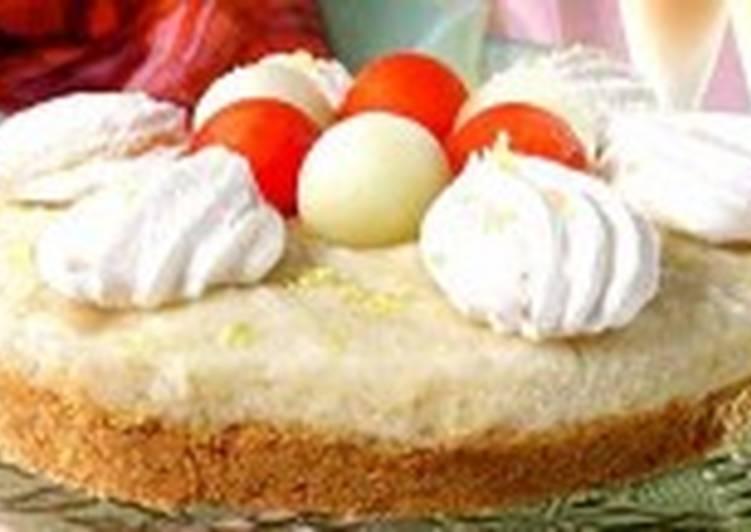 Дынный торт с ликером