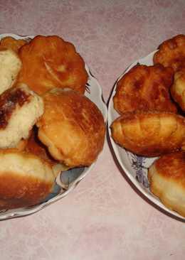 Воздушные пончики без сахара, как Берлинеры