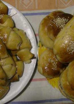 Рогалики и булочки со сгущенкой. Просто и вкусно