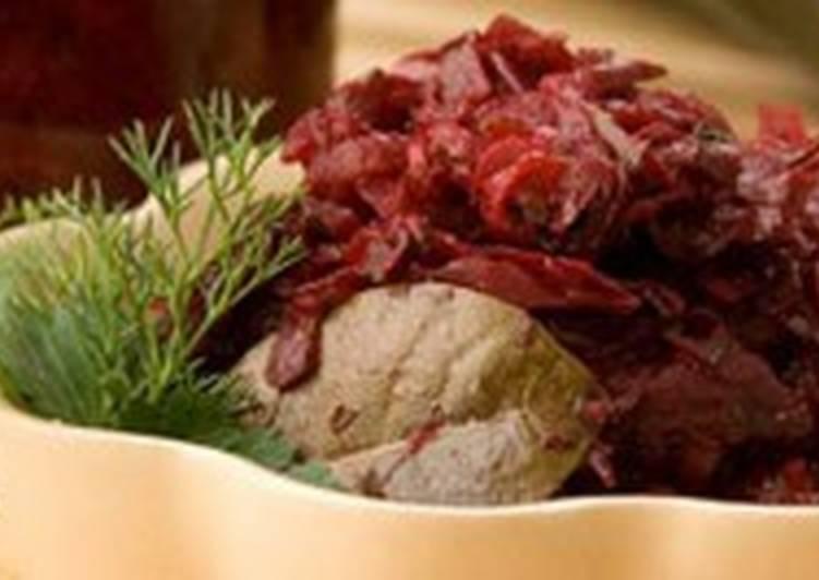 Легкий свекольно-огуречный салат
