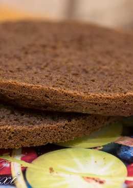 Классический рецепт бисквита с добавлением кофе