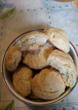 Несладкое сырное печенье