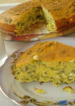 Проя(кукурузный пирог с брынзой и шпинатом). Очень вкусно и просто!