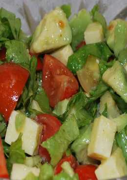 Салат из *Авокадо*! С оливковым маслом
