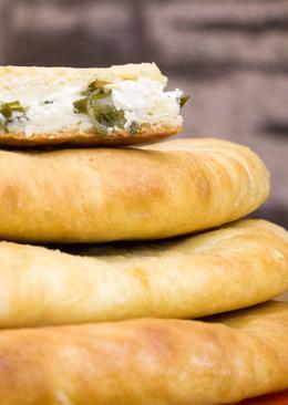 Ну очень вкусные осетинские пироги с тремя разными начинками