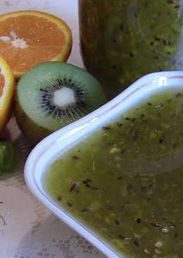 Варенье из крыжовника, киви и апельсина! Супер вкус