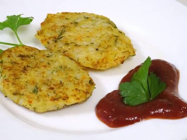 Овощные котлеты-постный рецепт