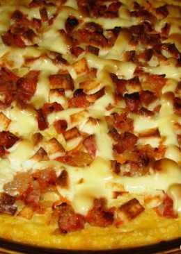 Пицца на основе мамалыги