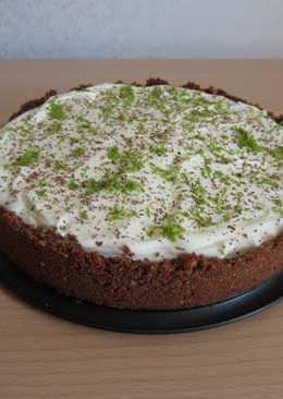 Шоколадно-лаймовый пирог