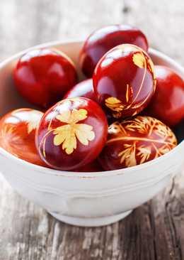Как красить яйца на пасху - пасхальные крашенки