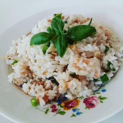 Салат с рисом!