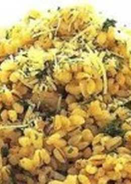 Перловая каша с морской капустой