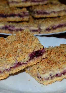 Печенье творожно - ягодное чудо