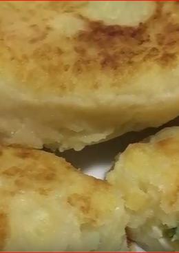 Картофельные зразы с яичной начинкой