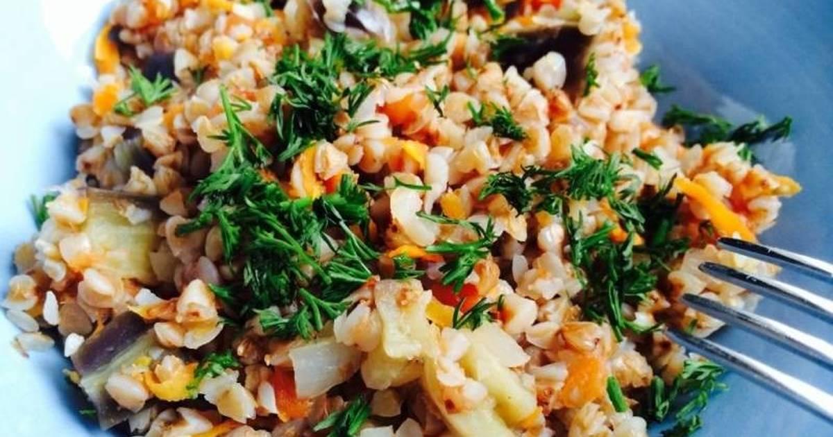 Гречка получается ароматной, рассыпчатой, очень вкусной - замечательный гарнир к мясным блюдам.